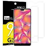 NEW'C Lot de 2, Verre Trempé Compatible avec Huawei P20, Film Protection écran - Anti Rayures -...