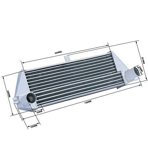 CoolingCare Front Mount High performance Intercooler for 2006-2012 BMW Mini Cooper S R56 R57 (Fit 1.6L I4)