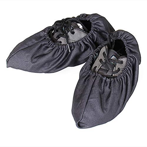 VOSAREA Schuhüberzieher Überschuhe wiederverwendbar rutschfeste Schuhe Cover für Haus Büro Wohnzimmer (zufällige Farbe)