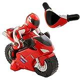 Chicco RC Ducati 1198 Moto Télécommandé au Guidon Intuitive, Véhicule Radiocommandé avec Klaxon et Bruits de Moteur - Cadeau pour Garçon ou Fille, Jouets pour Enfants de 2 à 6 Ans, Blanc