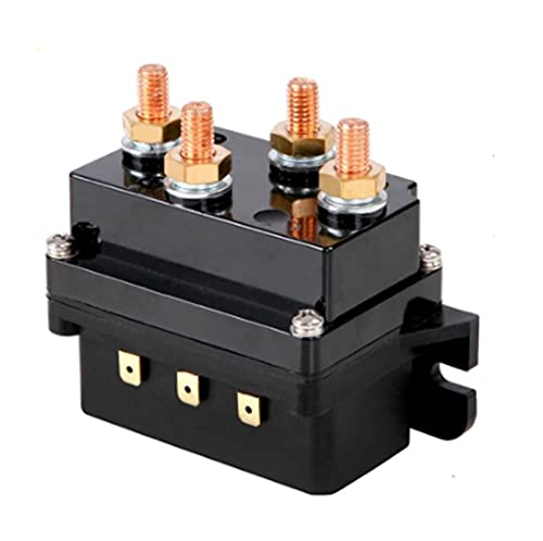 Crying 12V Banco Solenoide Retray Controller 500A DC Interruptor 4WD 4x4 Boat ATV Control Fit para Jeep BMW Fit para Benz Fit para Audi Fit para Peugeot Fit para VW Seat Lada Toyota