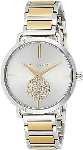 Michael Kors Damen Analog Quarz Uhr mit Edelstahl Armband MK3709