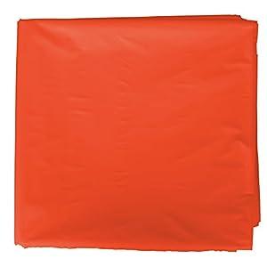 Fixo Kids 72052 Bolsa de plástico Disfraces Adultos y niños. Paquete de 25 Bolsas Color Naranja. Medidas 65 x 90. - Fixo Kids 72052