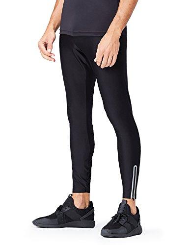 Activewear Sport Leggings, Schwarz, Large