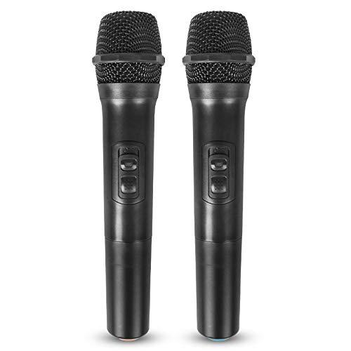 Rovive Karaoke Microfoon Draadloze Microfoon Plug & Play Handheld Dynamische Vocal Microfoon Voice Amplifier Voor Zingen Live Opname