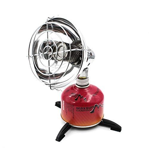 Mini Calentador de Calentador de Gas para Acampar portátil con Soporte para Estufa de Pesca al Aire Libre Calentador de Tienda de campaña