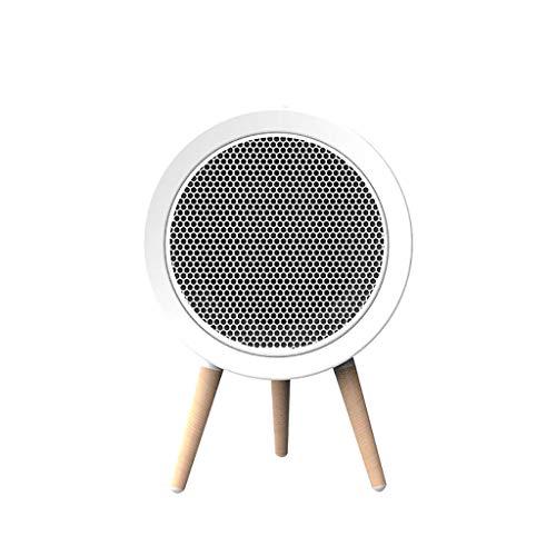 R-Cors Mini Calentador portátil silencioso de Escritorio Ajuste del Ventilador Calentador de Aire Oficina en el hogar Segura