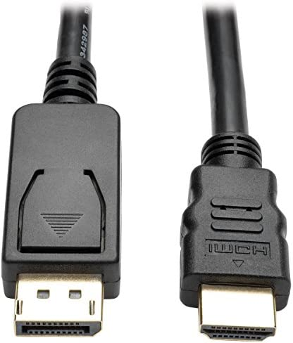 Tripp Lite DisplayPort to HDMI Adapter Cable DP with Latches to HDMI M M UHD 4K x 2K 1080p 6 product image