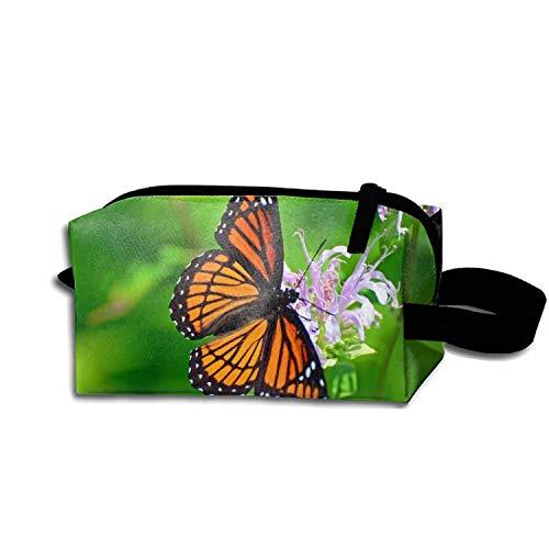 Adorable Viceroy Butterfly Estuche para lápices Cremallera Monedero Organizador Maquillaje Bolsa...