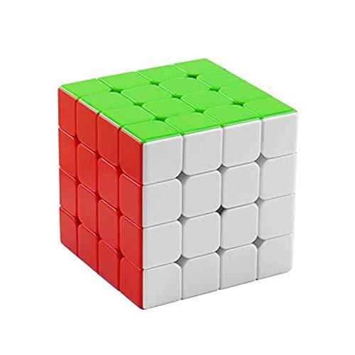 FAVNIC Cubo de Velocidad, Magnetic Cubo de Mágico 4X4 Rompecabezas sin Etiqueta Juguetes para niños y Adultos