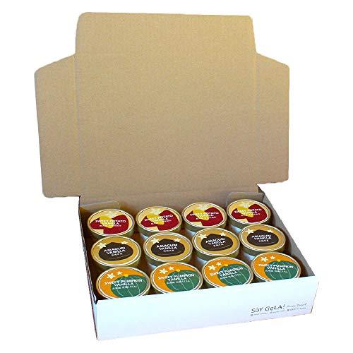 オーガニック 豆乳 ジェラート 安納芋 甘栗 くりりん かぼちゃ 100ml 12個セット 無添加 国産 有機JAS 乳 卵 不使用 低カロリー