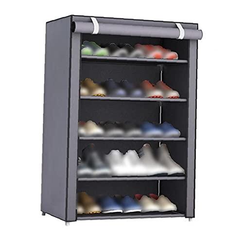 YepYes Zapato Gabinete Torre Organizador del almacenaje de la Tela no Tejida Zapatos Rack Zapatos Organizador habitación Dormitorio Bastidores del Zapato