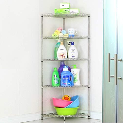 JUIZS Badkamer plank opslag Badkamer Statief Wasbak RVS Toilet Badkamer Rack Opslagracks Voor Keuken Kasten Badkamer plank geen boren