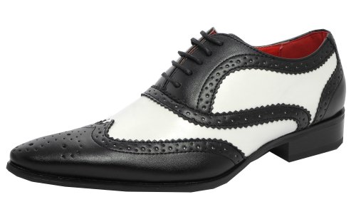Guciani Brogue-Schuhe für Herren, Mehrfarbig 44.5 EU