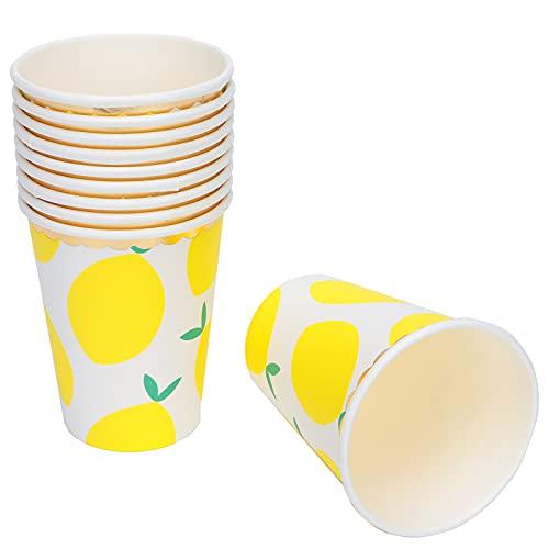 Vaso para Beber, Sencillo y práctico Vasos de Papel prácticos para Fiestas en casa