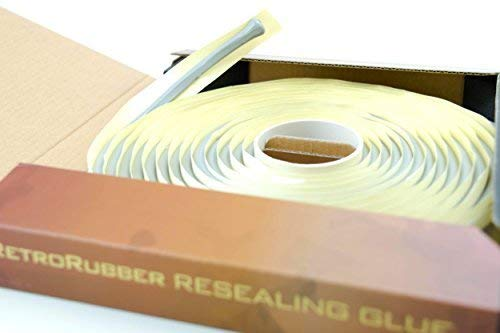 RetroRubber OEM Grade Butyl Headlight Sealant, Gray