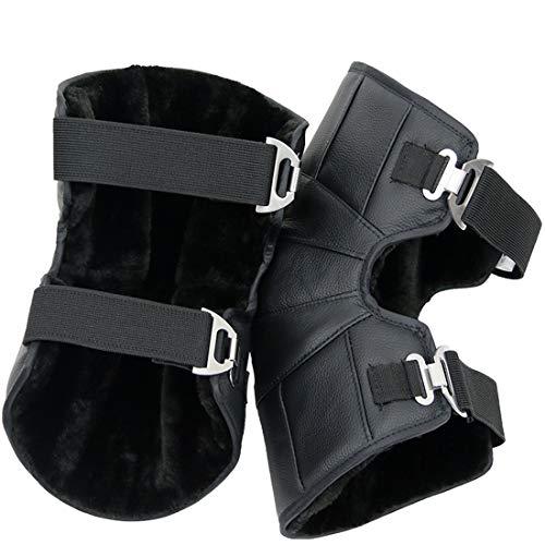 QAR Rijden Kniebeschermers, Winter Outdoor Wol Koude Warm Dikke Mannen En Vrouwen Elektrische Auto Panty's/Schaatsen Beschermende Gear Kneepad