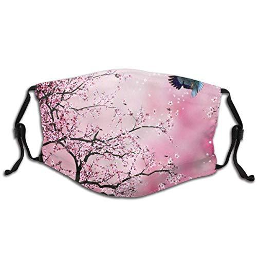 Olive Croft Gesichtsschutz Mundschutz Japanische Kirschblüte1 Grafik Mit Filter