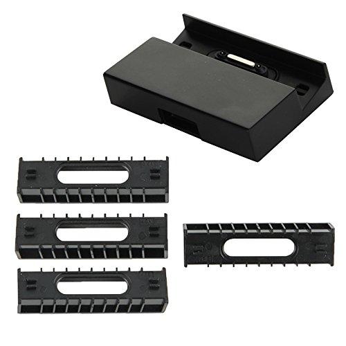 TheSmartGuard Dock kompatibel für Sony Xperia Z3 Compact / Z1 / Z2 / Z Ultra Magnet Dockingstation DK48 - NEU mit überarbeiteter Ladegeschwindigkeit!