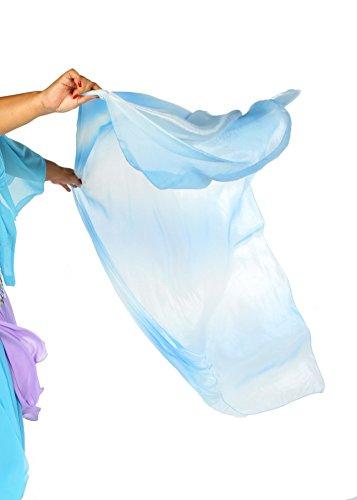 Belly Dance Organza Veil Ola Organze (Blue)