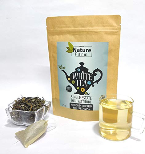 Eggsy's Nature Farm White Tea Darjeeling - 75 Grams