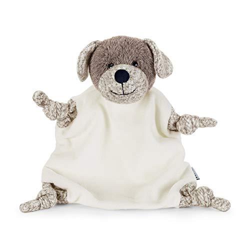Sterntaler 3211961 Schmusetuch, Hund Hanno, Alter: Für Babys ab dem 1 Monat, Größe: M, Farbe: Braun/Beige