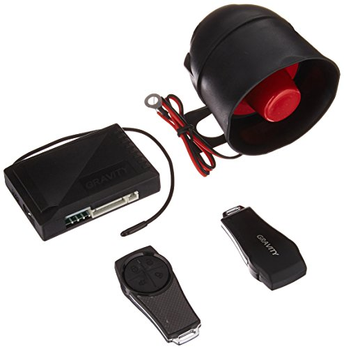 Unknown Gravity Car Alarm & Keyless Entry System w/Internal Shock Sensor G1SX,...