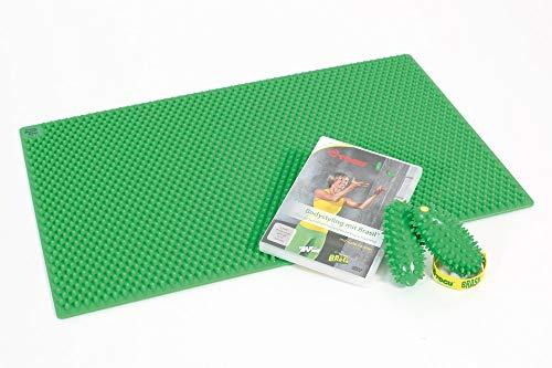 Fitness-Set Togu Gymnastikmatte Brasil Base, Handtrainer Brasil & DVD