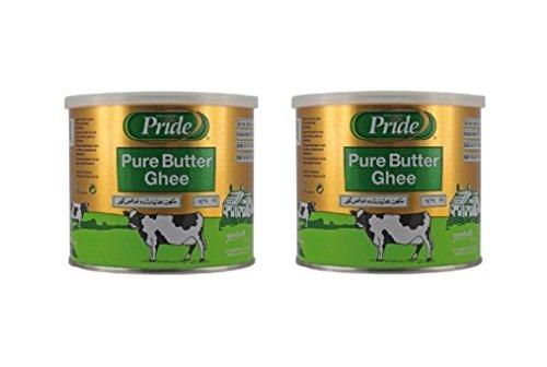 Pamai Pai® Doppelpack: 2 x 500g Butter Ghee geklärte Butter Butterschmalz Kochen