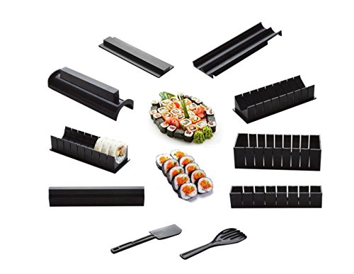 Haoyishang sushi Maker kit Rice roll Mould Kitchen DIY Easy chef set stampo roller cutter