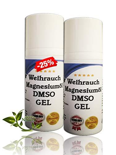 Leivys DMSO Gel - Salbe + Weihrauch Auszug mit Magnesiumöl, bequeme Anwendung, effektive Wirkung 100ml