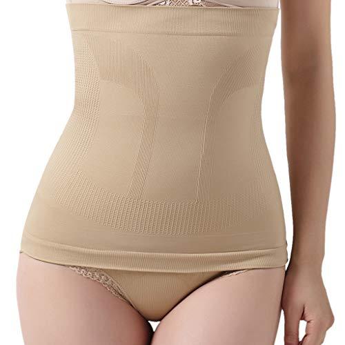 Scrolor Damen Korsett Taillenmieder Postpartale Nahtlose Hosen Dünne Gürtel Damen Taillenband Cincher Body figurformend Hugging Pants