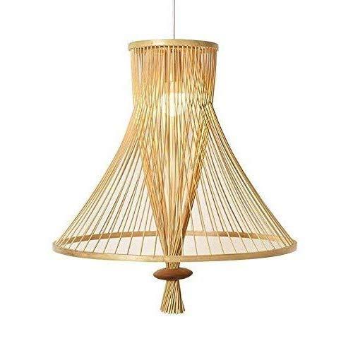 Chandelier de granja Vintage Bambú de mimbre Luces de ratán SHAD COMEDIENDO COMEDOR LUZ COMEDOR CLÁSICO CLÁSICO LUZ CARTANDO LUZ DE LUCHES Lámparas Lámparas de techo Simple Hung Arañas modernas