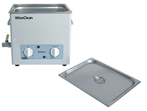 Witeg Ultraschallbad WUC-A03H 3.3L bis 85°C 40kHz, analoge Steuerung, inkl. Flachdeckel, ideal zum Reiningen von Laborinstrumenten, ohne Korb