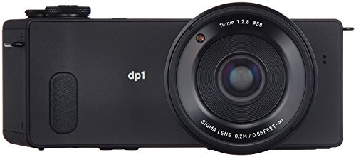 Sigma dp1 Quattro Digitalkamera (39 Megapixel, 7,6 cm (3 Zoll) Display, SD-Slot, USB 2.0) schwarz