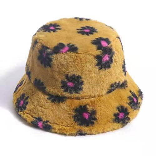 WSMYG Cappello Pescatore Stampato Donna Outdoor Caldo Visiera Parasole Morbido Cappello alla Moda 04