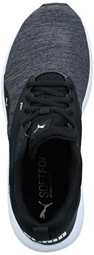 PUMA NRGY Comet, Zapatillas de Running Unisex-Adulto, Negro Black White, 45 EU