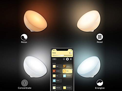 Philips Hue Go White and Color Portable Dimmable LED Smart Light Table Lamp (Requires Hue Hub, Works with Alexa, HomeKit and Google Assistant) 9