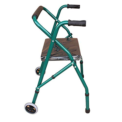 wheelchair Medizinischer Reha-Stuhl, Rollstuhl, leicht verstellbarer Walker, faltbarer Walker Carbon Steel Sicherheitsgurt Riemenscheibe Old Walker