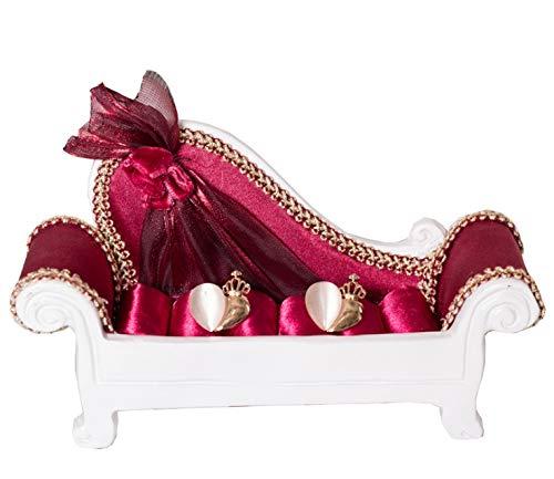 Forgetek ジュエリースタンド ホルダー ソファ型 ネックレス ピアス 指輪 ブレスレット イヤリング ディスプレイ ジュエリーラックフック 小物収納 装飾 飾り物