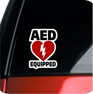 "ProSticker 1909 (Two Pack) 5"" AED Equipped Series Decal Sticker"
