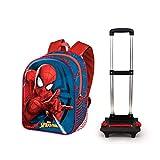 KARACTERMANIA Spiderman Crawler-Mochila Basic con Carro, Multicolor, One Size