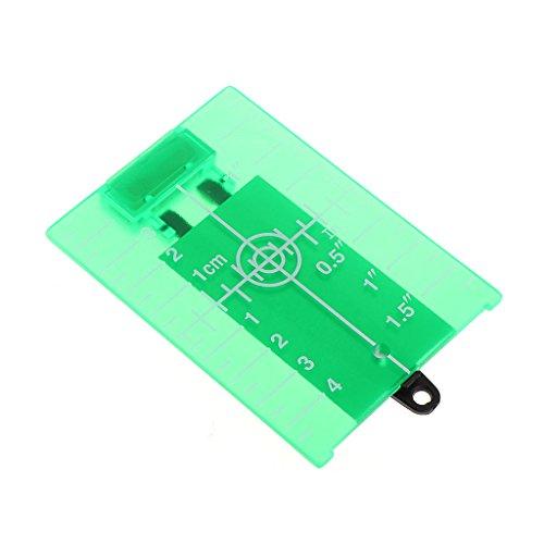 William-Lee magnetische groene doelplaat voor roterende dwarslijn laserniveau afstandsmeter