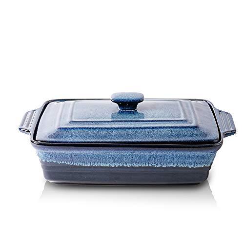 Ceramic Casserole Dish with Lid