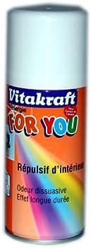 Vitakraft - 11292 - Répulsif Intérieur - Aérosol pour Chien - 150 ml