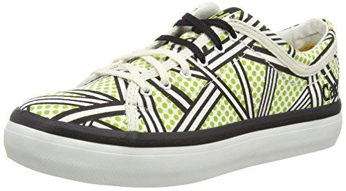 Caterpillar Mari Canvas Walala, Damen Sneakers, Mehrfarbig - Multicolor (Lime), Größe: 35.5 EU
