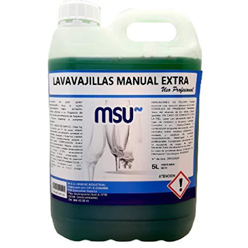 MSU - Lavavajillas Manual Extra. Envase 5 Litros