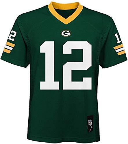 Outerstuff Aaron Rodgers Green Bay Packers NFL-Trikot für Jungen, Gr. 8–20, Grün - Grün - Jugend X-Large