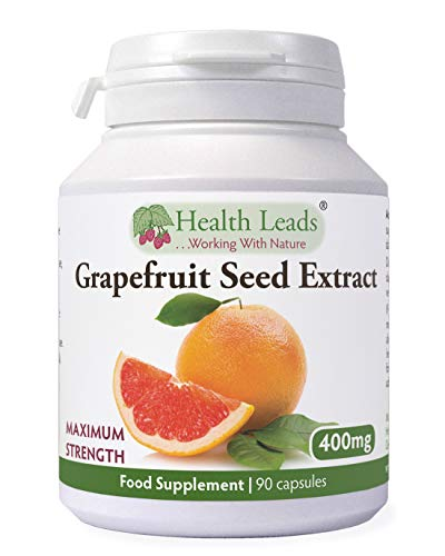 Grapefruit Seed Extract (Magnesium Stearate Free) 400mg x 90 Capsules (GSE)
