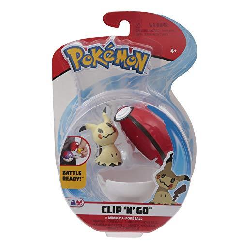 Giochi Preziosi Pokemon - Pokémon Clip'n Go con Figura de Mimikyu y Poke Ball